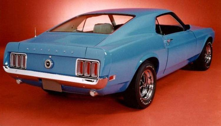 1970 Ford Mustang Quarter Horse