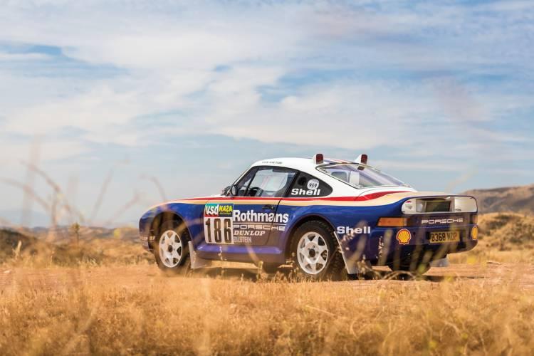 1985 Porsche 959 Paris Dakar 32