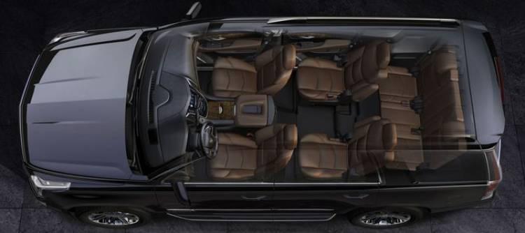 2015 Cadillac Escalade, renovación completa para el yate de carretera estadounidense