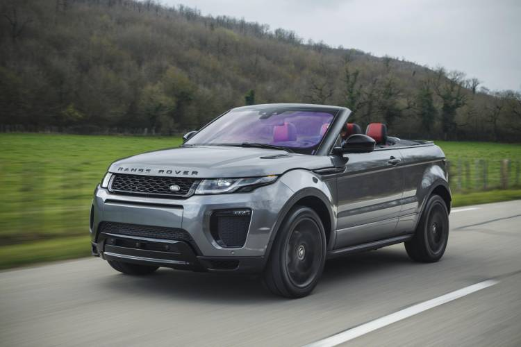 2017-Land-Rover-Range-Rover-Evoque-Convertible-front-three-quarter-in-motion-05-1
