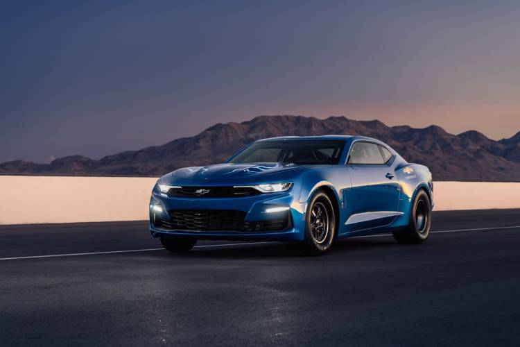 The Ecopo Camaro Concept Offers An Electrified Vision Of Drag Ra
