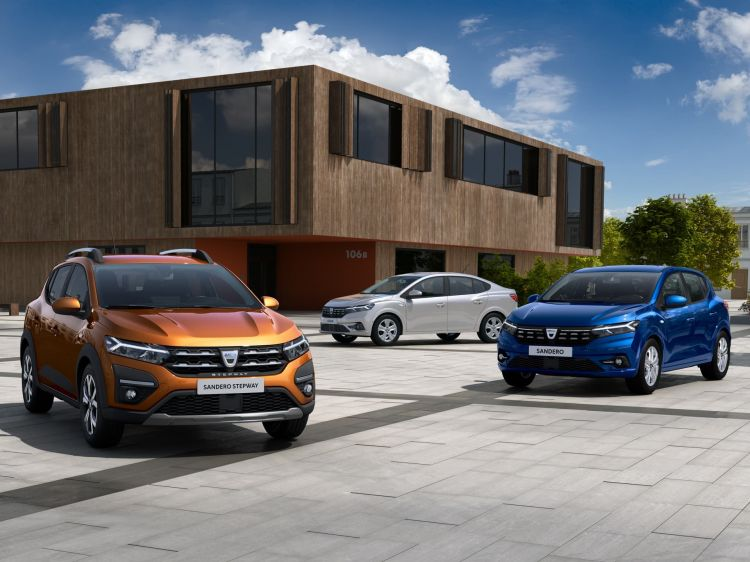 2020 New Dacia Sandero Sandero Stepway And Logan