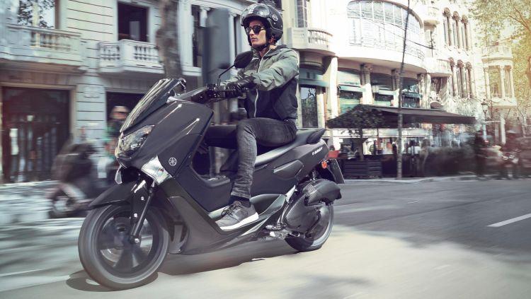 2020 Yamaha G125ym Eu Matt Grey Action 002 03
