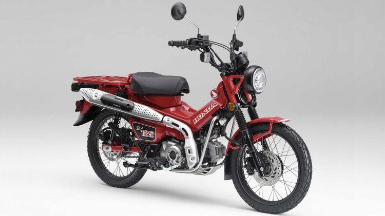 2021 Honda Ct125 Hunter Cub 2