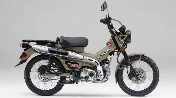 2021 Honda Ct125 Hunter Cub 3