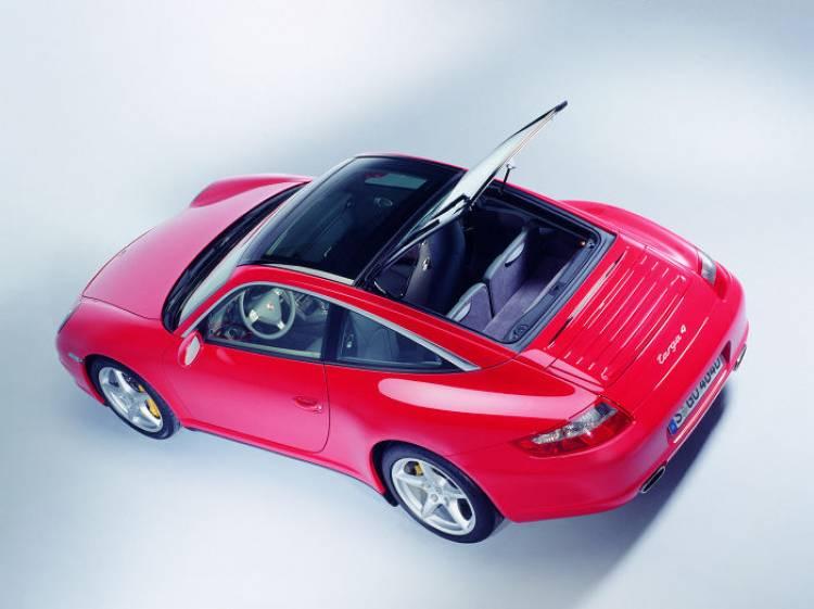 Porsche 911 Targa: directo al Salón de Los Angeles