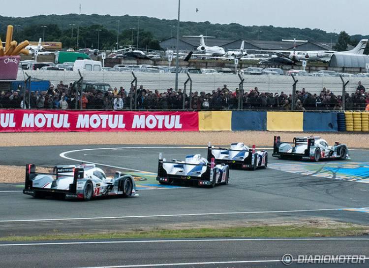 Toyota TS030 Hybrid en Le Mans