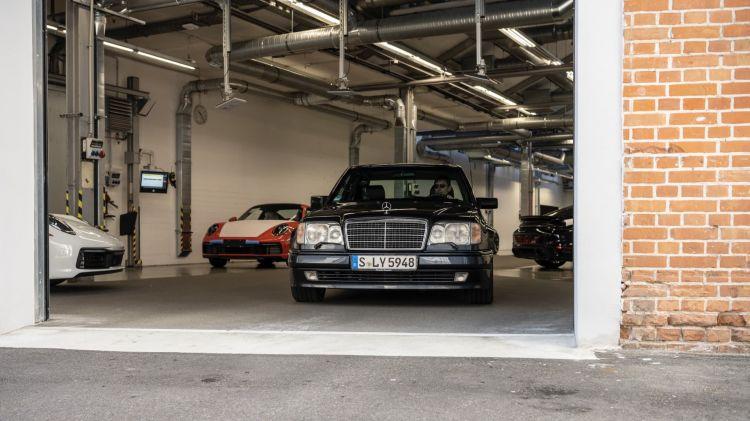 3 Curiosidades Mercedes 500 E W 124 04