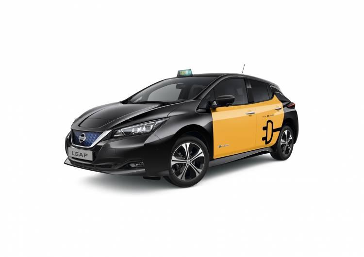 426211184 Nissan Leaf Taxi De Barcelona