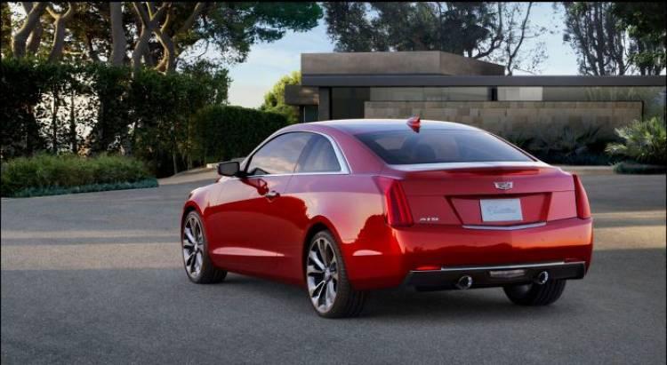 El Cadillac ATS-V Coupe quema rueda antes de su inminente debut