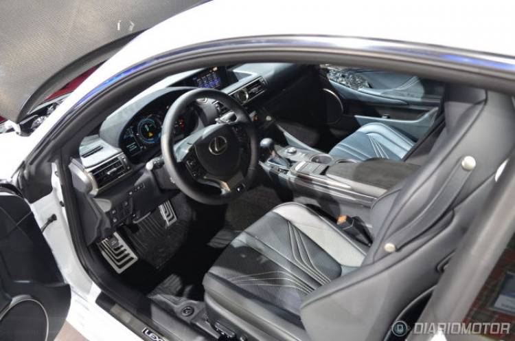 Lexus RC F 2015 en directo desde París