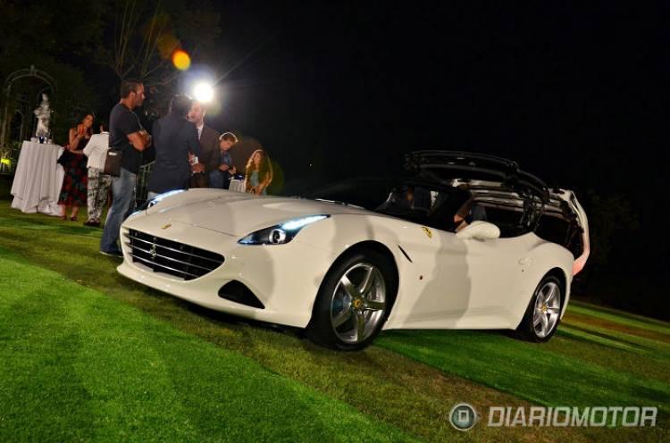 Ferrari California T: arte a golpe de aerodinámica
