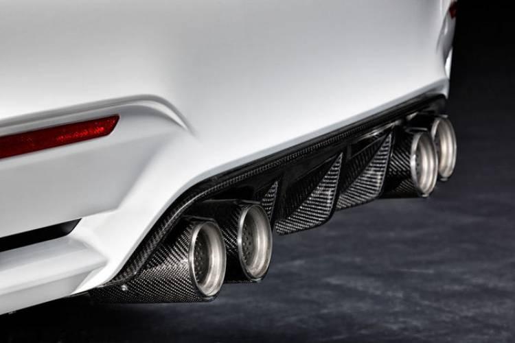 BMW M Performance: nuevos accesorios para los BMW M3 y M4