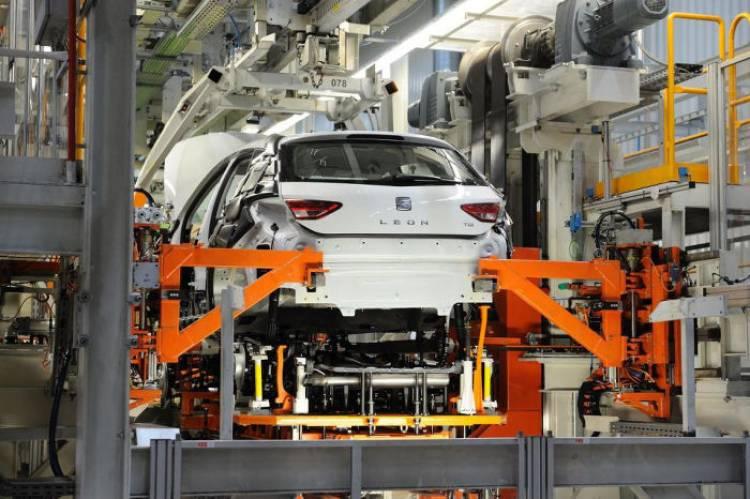 ¿Sabías que de la planta de Martorell salen más de 2.000 coches al día?
