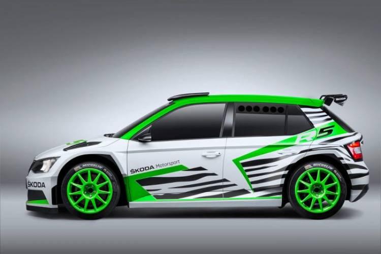 SKODA Fabia R5: conceptual sí, pero ya casi listo para dar el salto a los rallyes
