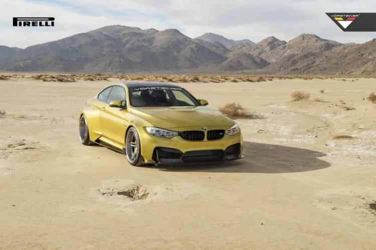 Nueva galería de imágenes del BMW M4 GTRS de Vorsteiner