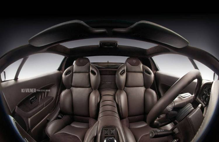 Vilner le da una segunda juventud al interior del Jaguar XJ220