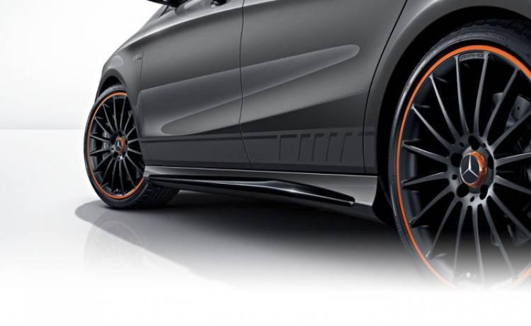 Mercedes CLA 45 AMG Shooting Brake OrangeArt Edition: toques naranjas también para la alternativa deportiva