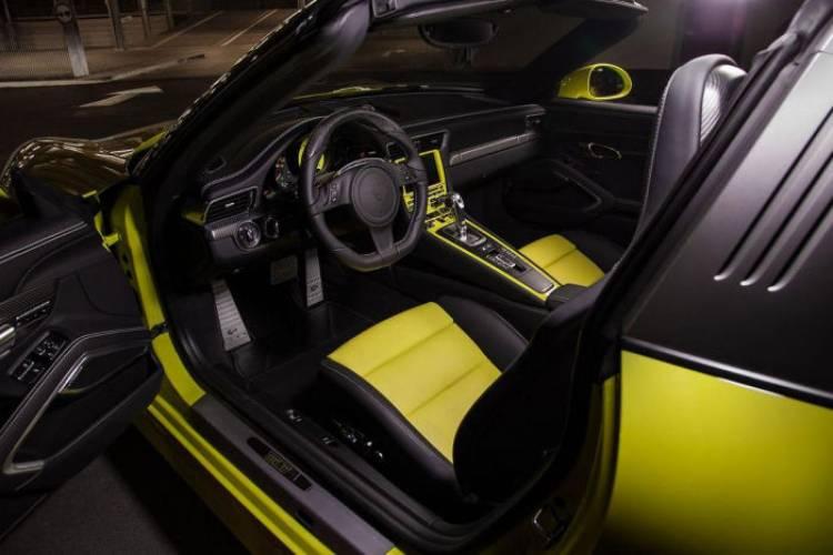TechArt presenta su catálogo de opciones para el Porsche 911 Targa