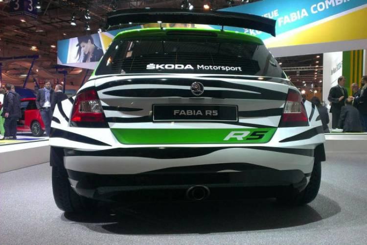 En carne y hueso, así luce en directo el nuevo Skoda Fabia R5