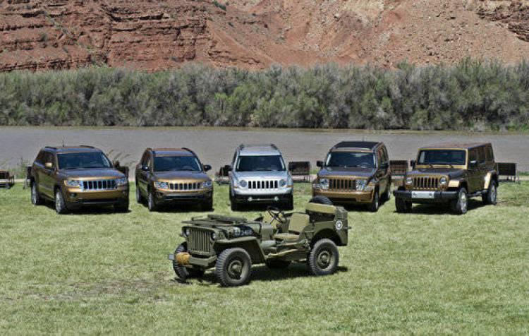70 aniversario de Jeep en el Moab