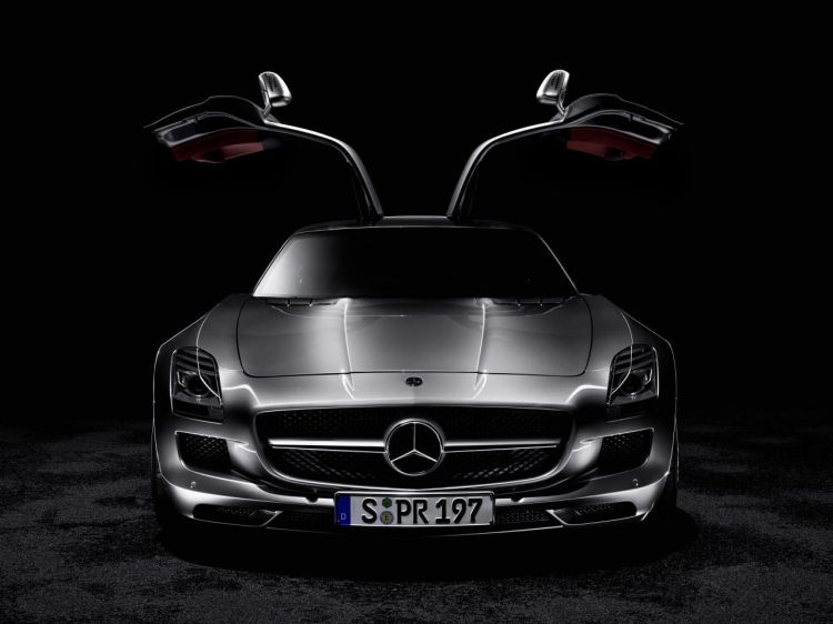 Mercedes-Benz SLS AMG Gullwing 2010