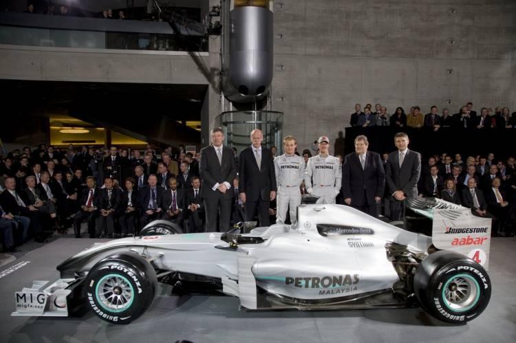 Presentación oficial de Mercedes GP-Petronas 2010
