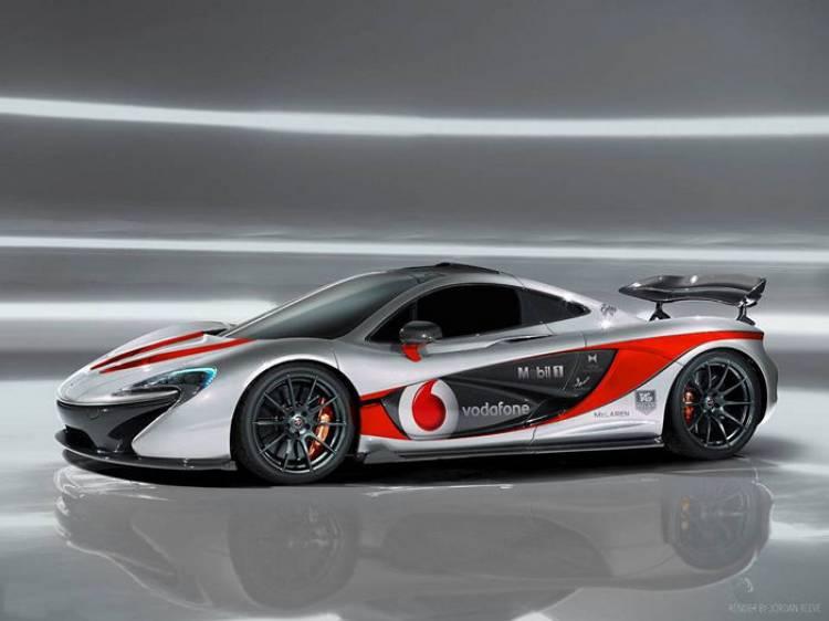 El McLaren P1 no se perderá la Gumball 3000 2014