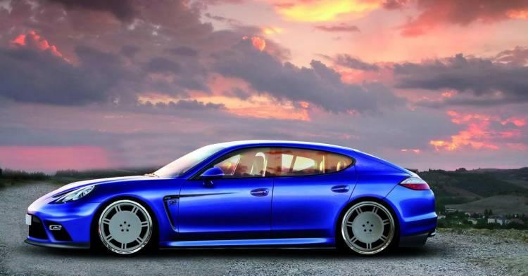 9ff Porsche Panamera, adelanto