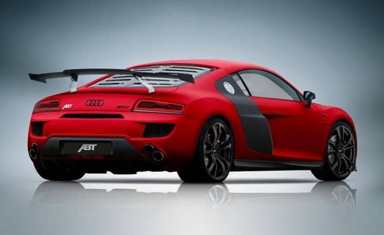 ABT R8 GTR: fibra de carbono y más potencia para el deportivo de Ingolstadt