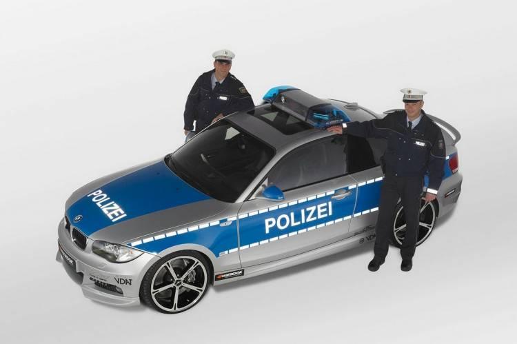 AC Schnitzer BMW 123d Coupe, el coche policía