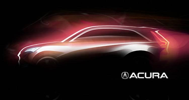 Acura nos anticipa dos SUV conceptuales para el próximo Salón de Shanghái