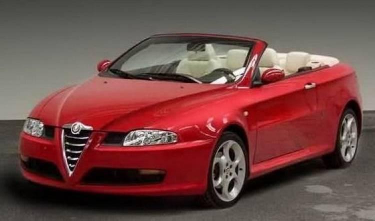 Alfa Romeo GT Cabrio (Bertone)