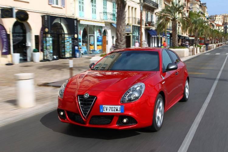 Alfa Romeo Giulietta Quadrifoglio Verde 2014