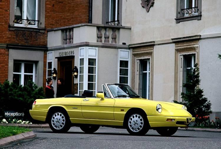 El Alfa Romeo Spider podría contar con un 1.4 Turbo y más de 160 caballos
