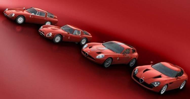 Los Alfa Romeo TZ de Zagato: TZ, TZ2, TZ3 Corsa y TZ3 Stradale