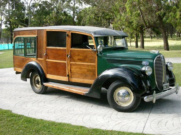 Un Ford de 1938 para irse de caza mayor
