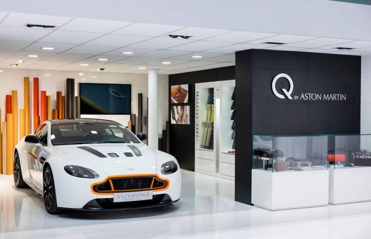 Q by Aston Martin, nuevos ejemplos de personalización desde el Salón de Pekín