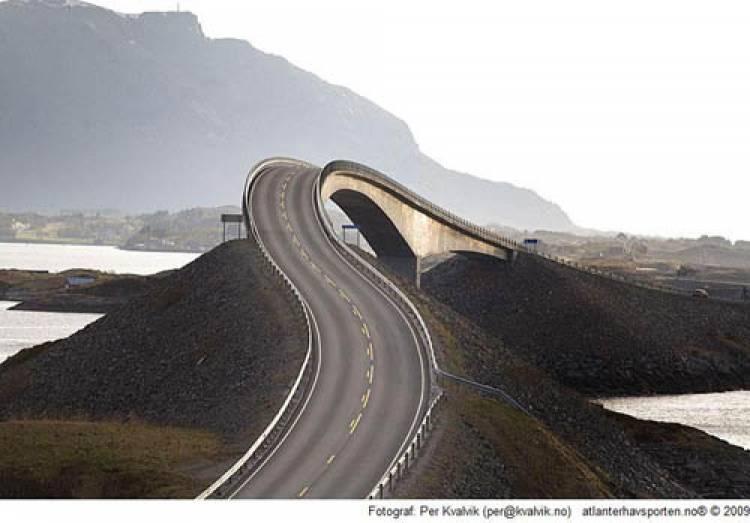 Carretera del Atlántico de Noruega