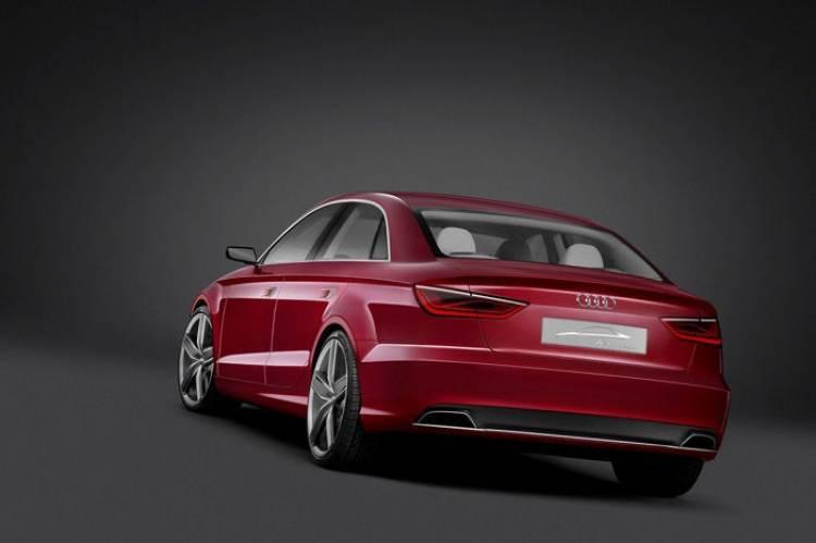 Audi S3 berlina en el Salón de Shanghai