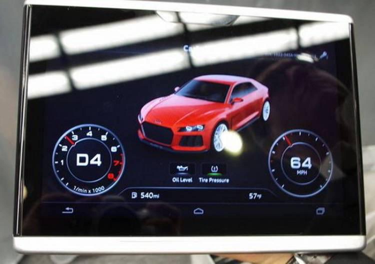 Nuevo Audi TT: una tablet para sustituir a la pantalla central