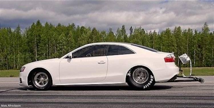 El Audi A5 de 1.000 CV de Eklund Racing