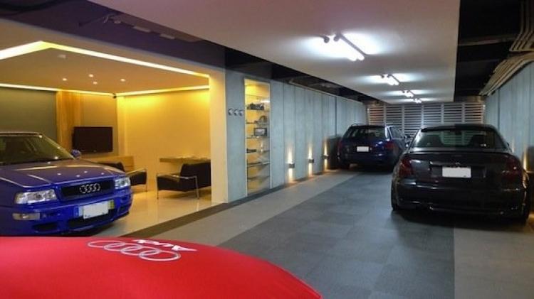 Casa temática de Audi, en Taiwan