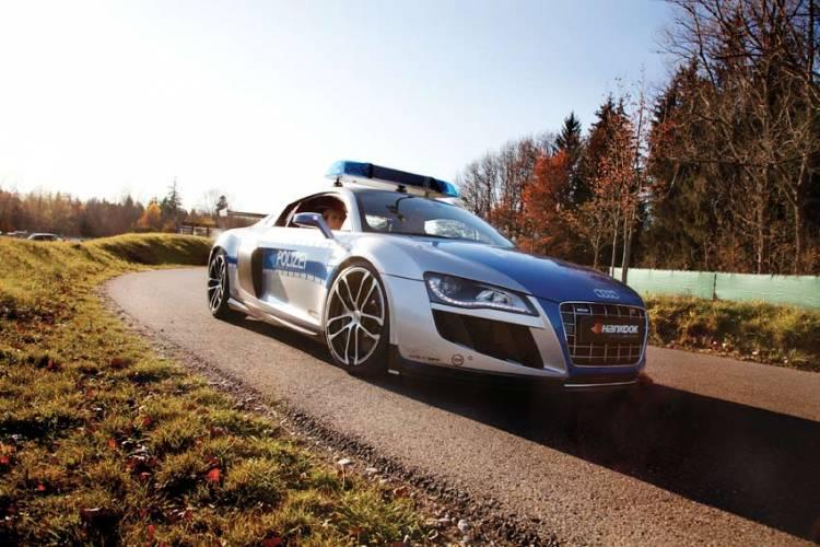 ABT Audi R8 GT R Polizei