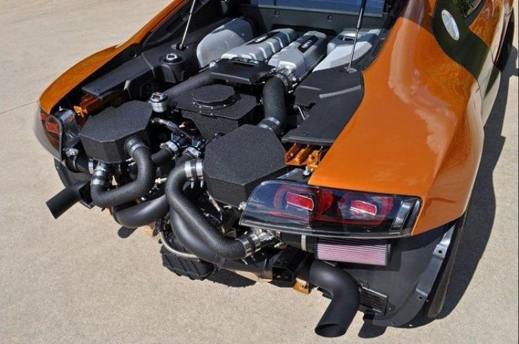 Audi R8 GT Twin Turbo por Underground Racing, 1.000 CV al galope
