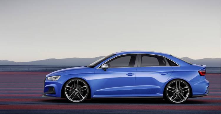 Audi A3 clubsport quattro concept: 525 caballos con sabor a RS3 Sedán