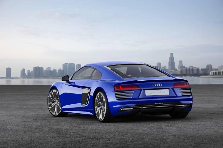 Audi R8 e-tron piloted driving