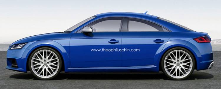 Audi TT Sportback: ¿y si le añadimos una pareja de puertas extra al Audi TT?
