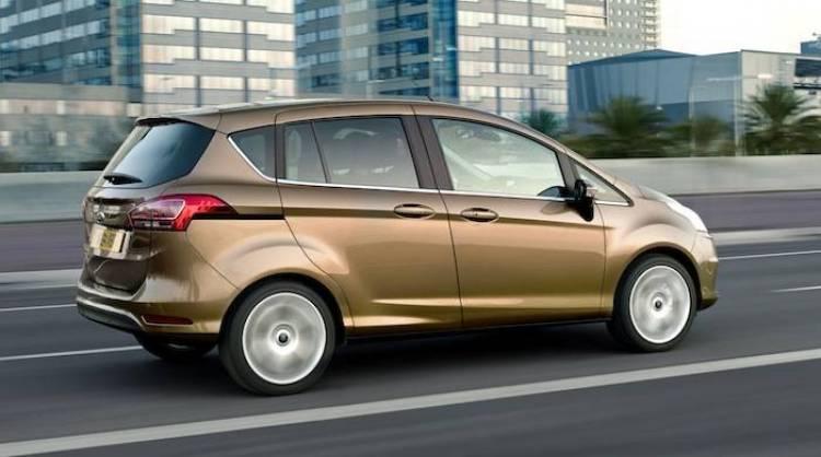 Ford B-MAX vs Opel Meriva