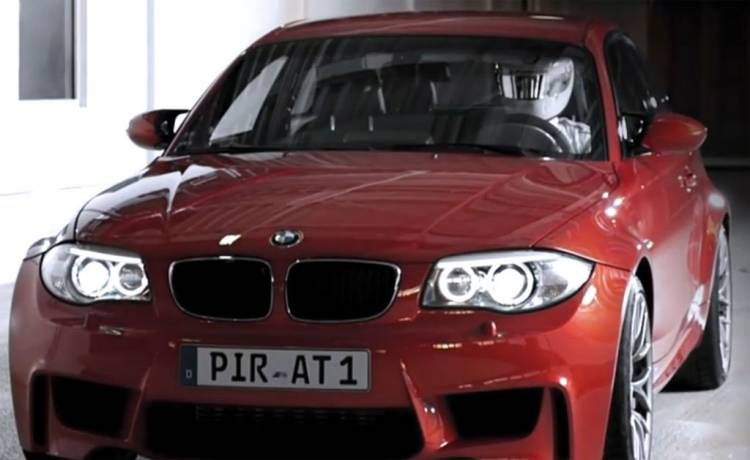 BMW Serie 1 M Coupé - Imágenes del vídeo anticipo